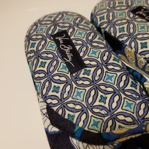 Vera Bradley Shoes - Vera Bradley Floral Slippers With Case